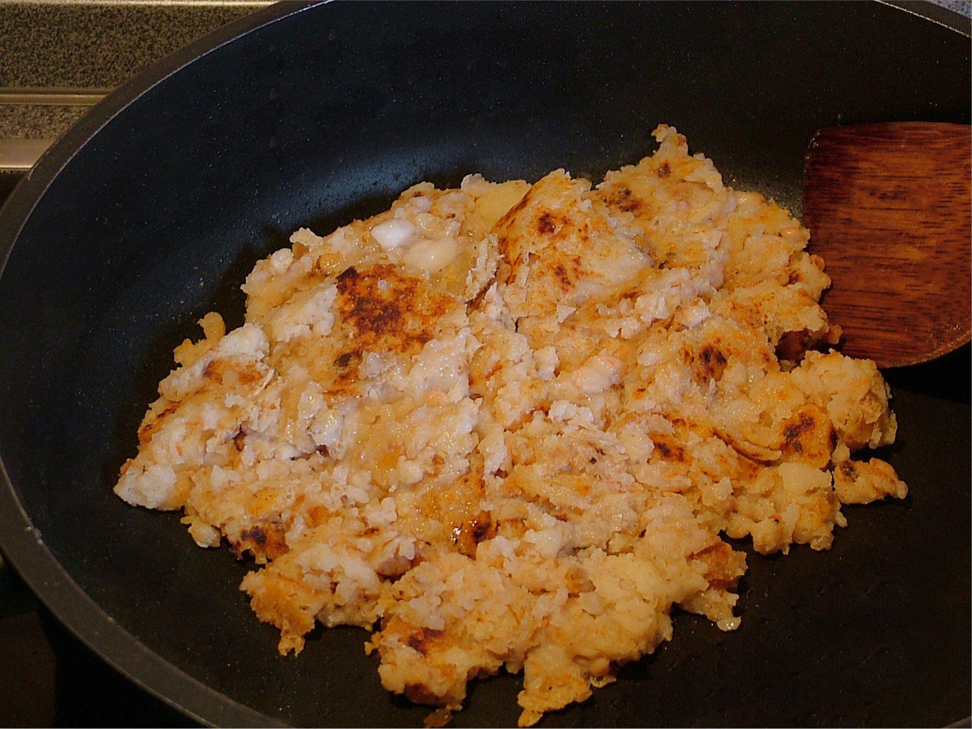Fazuľová kaša dolnostredská s ryžou