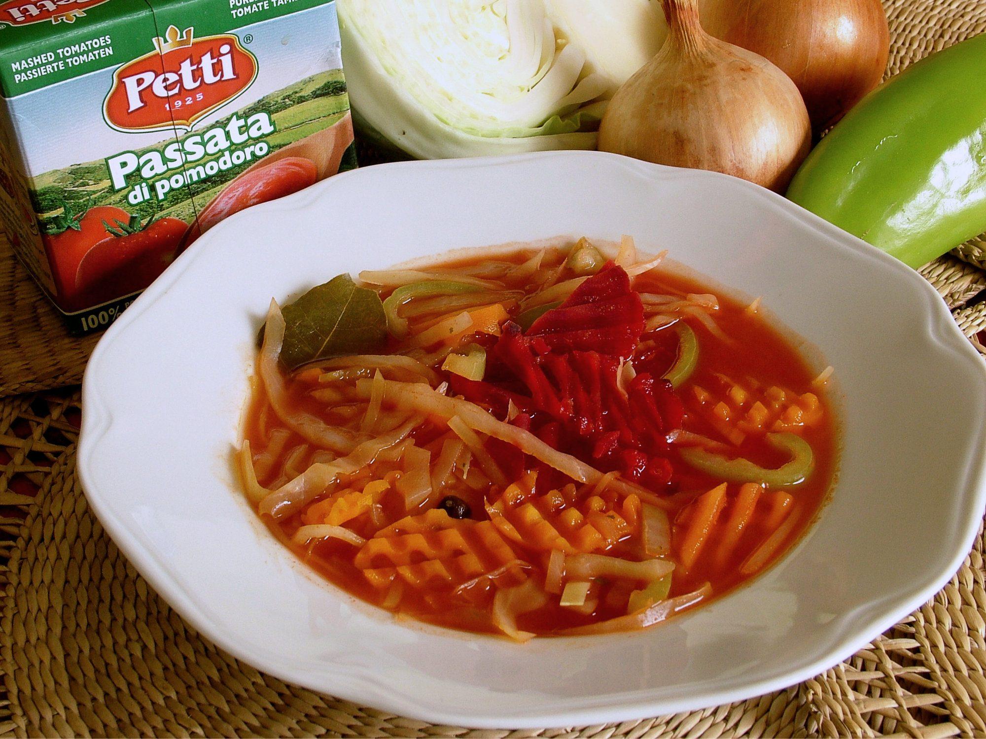 Tukožravá polievka - rýchla sedemdňová diéta