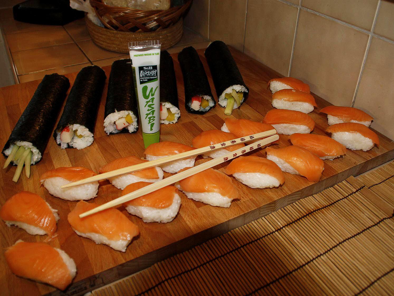 Ako sme pripravovali domáce Sushi