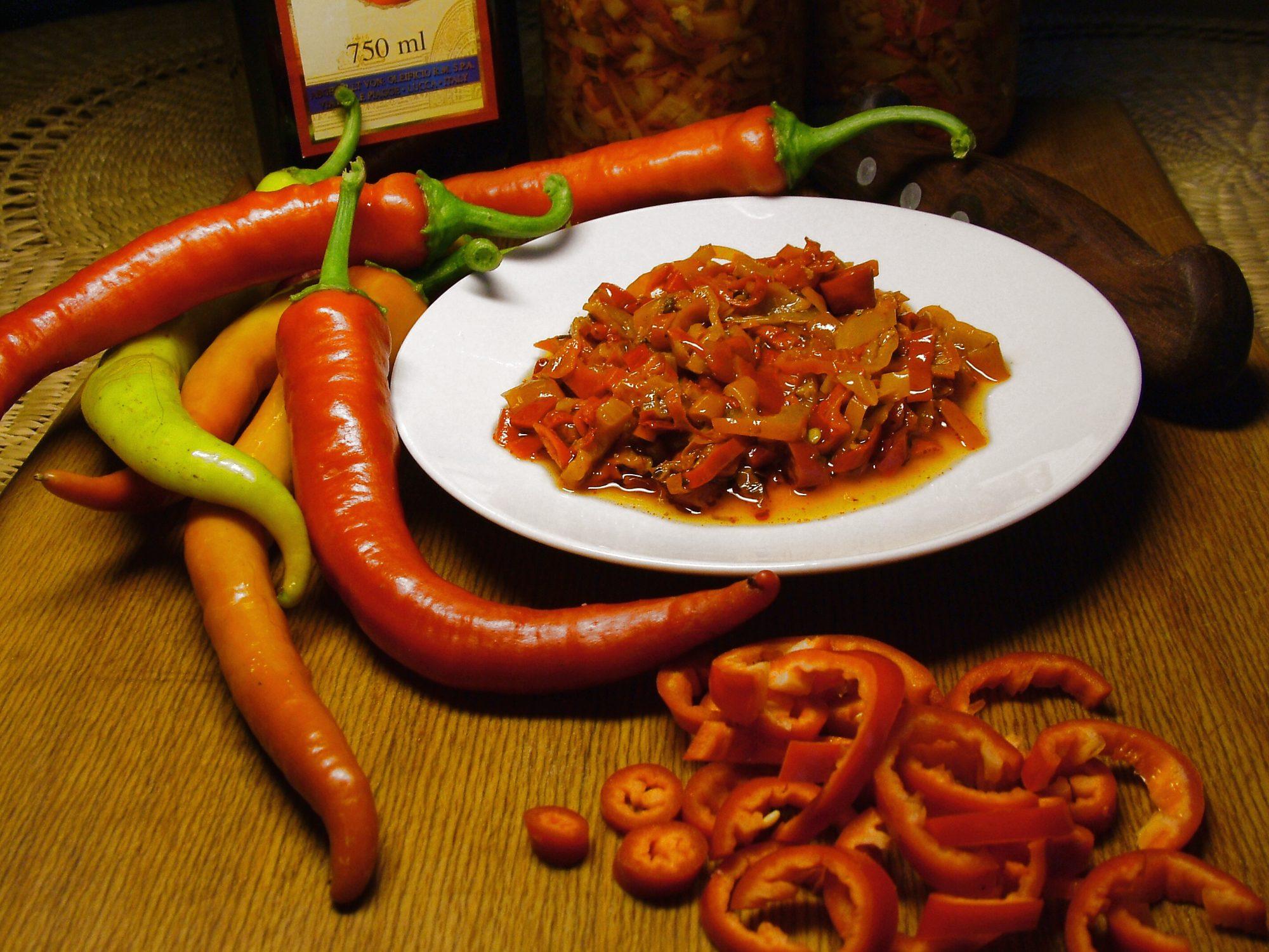 Papričky po taliansky od tety Nuccie z Turína