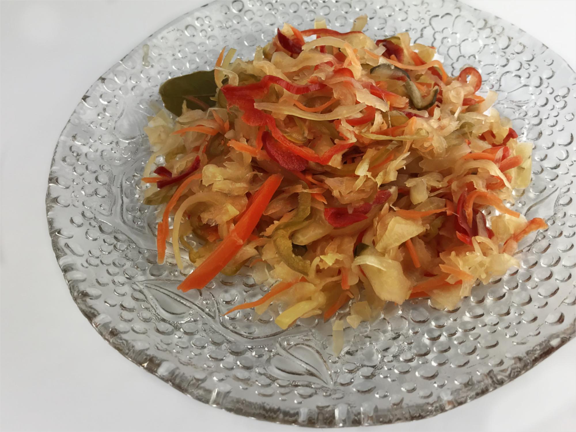 Nakladaná kvasená alebo fermentovaná zelenina - Pickles